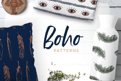 Boho Patterns Collection