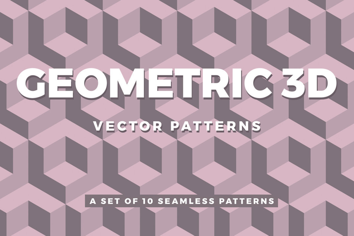 Geometric 3D Patterns