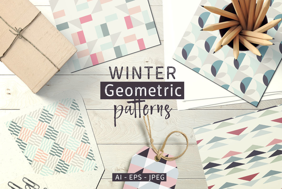 Winter Geometric Patterns