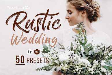 Rustic Wedding Presets for Lightroom  ACR