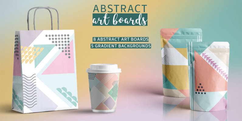 Abstract Art boards