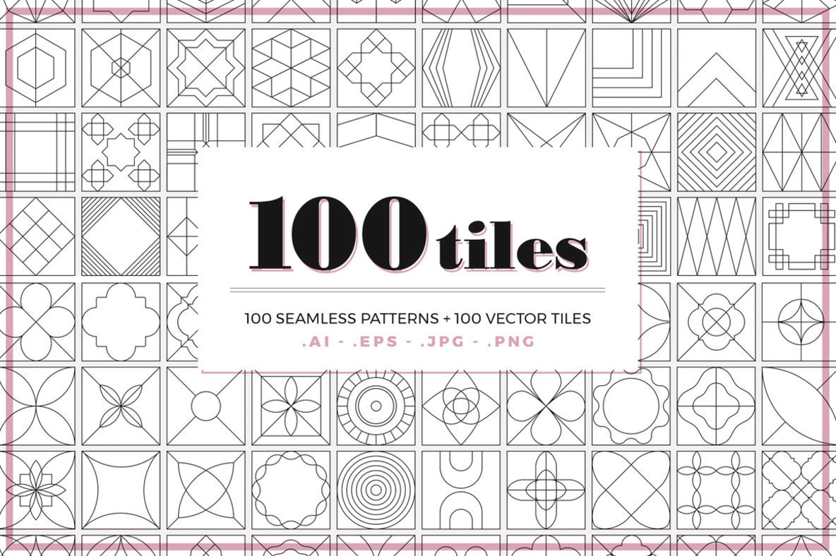 100 Tiles Patterns
