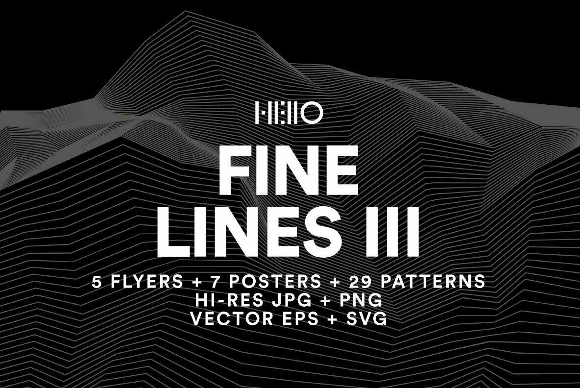 Fine Lines III