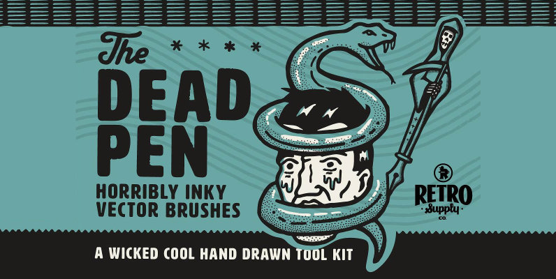 The Dead Pen   A Wicked Cool Hand Drawn Toolkit