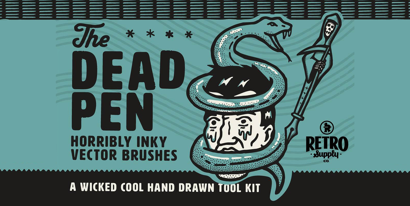 The Dead Pen | A Wicked Cool Hand Drawn Toolkit