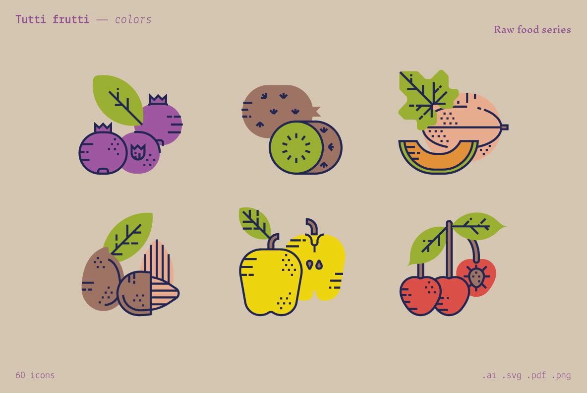 Tutti Frutti   Food Icons