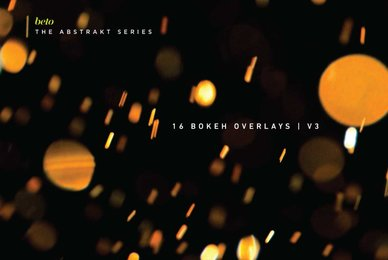 Bokeh Overlays 3