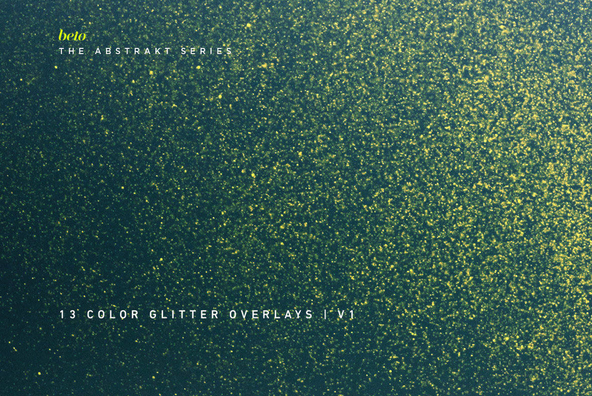 Color Glitter Overlays 1