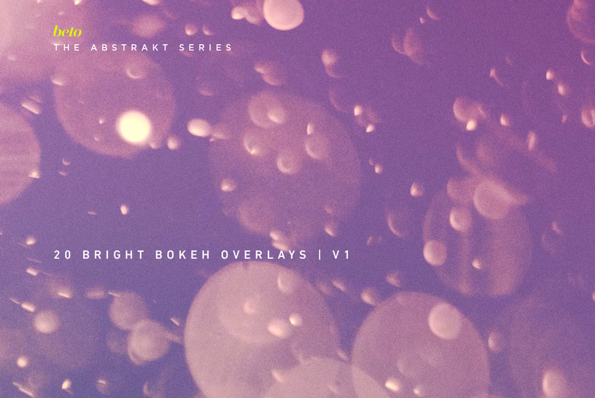 Bright Bokeh Overlays 1