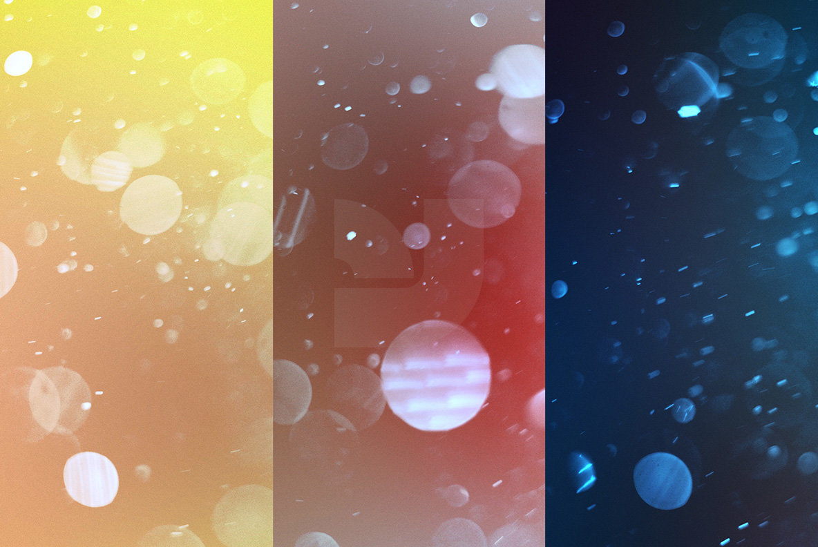 Bright Bokeh Overlays 2