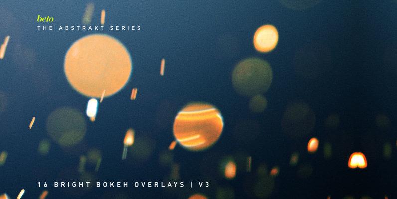 Bright Bokeh Overlays 3