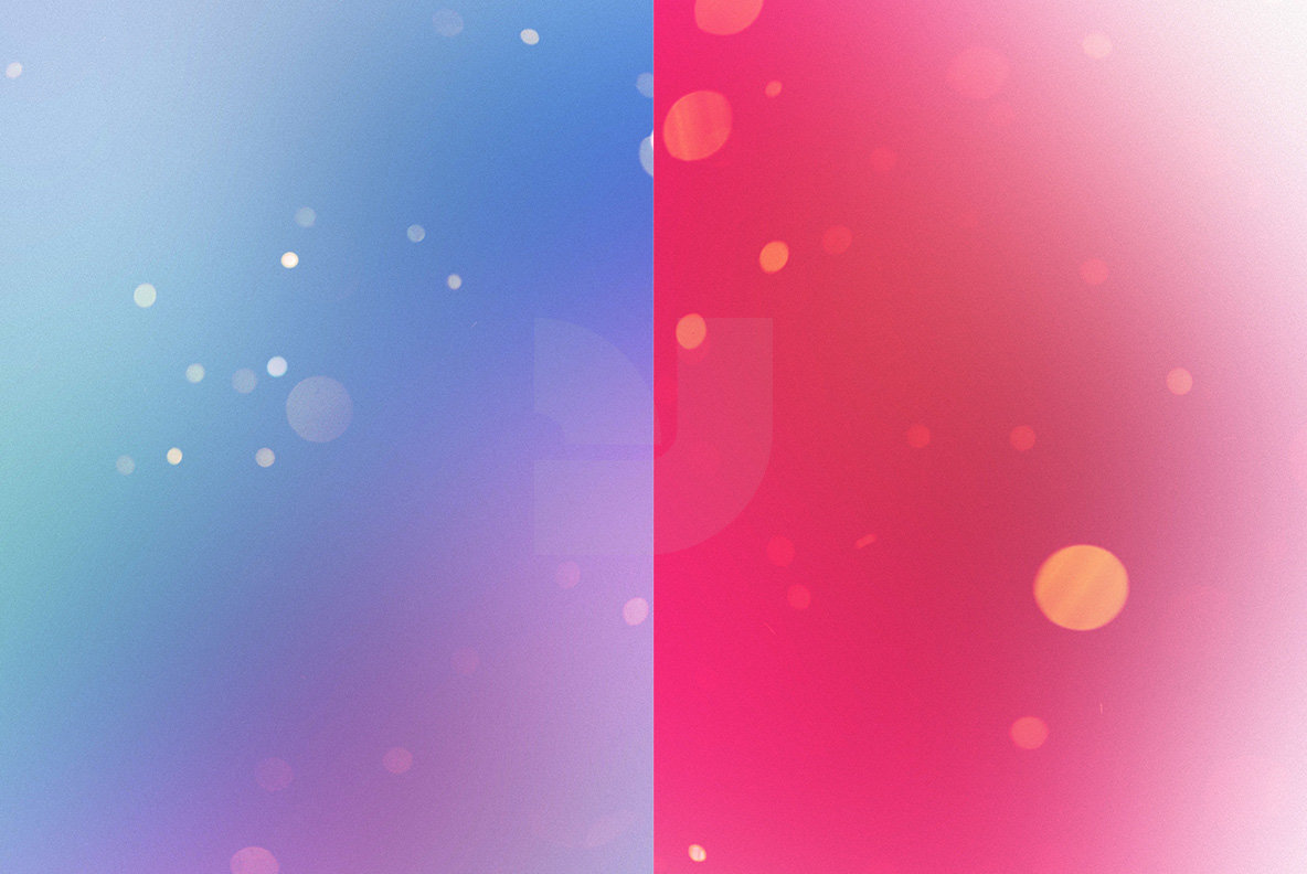 Bright Bokeh Overlays 3