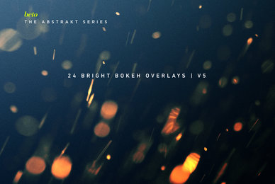 Bright Bokeh Overlays 5