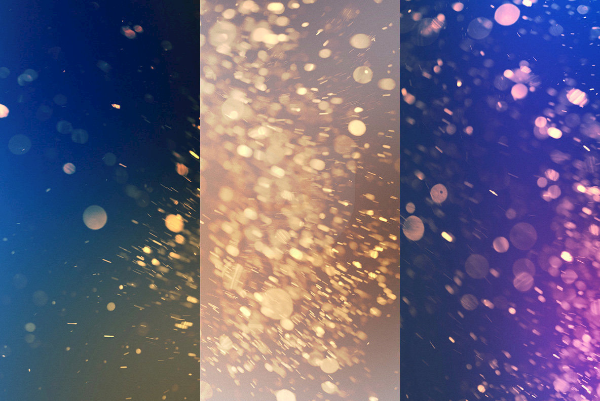 Bright Bokeh Overlays 5