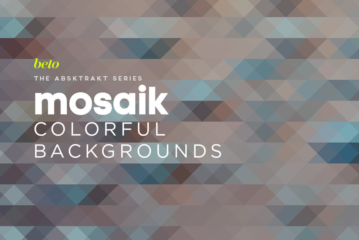 Mosaik Colorful Backgrounds 1