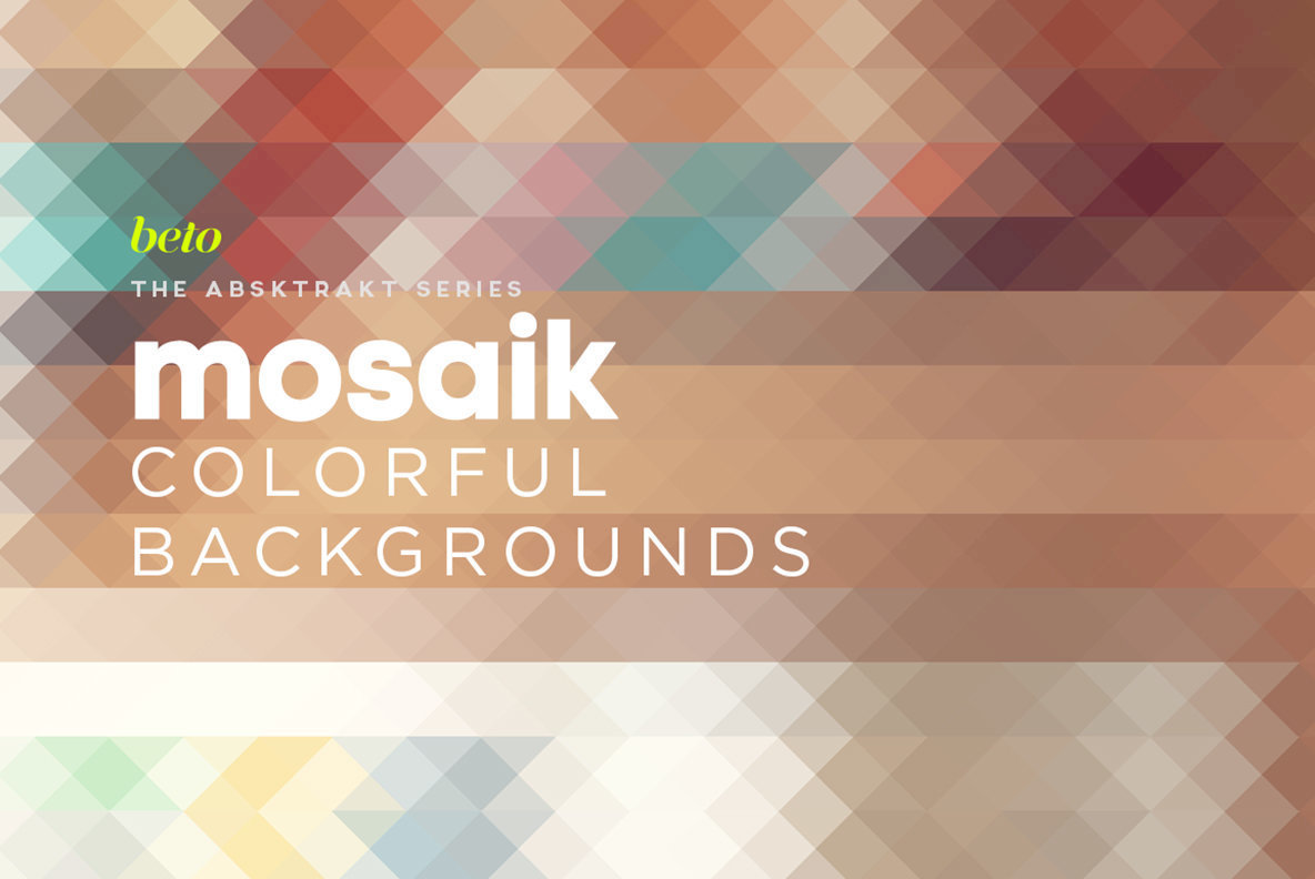 Mosaik Colorful Backgrounds 3