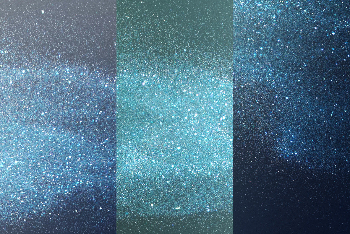 Color Glitter Overlays 3