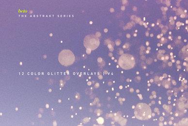 Color Glitter Overlays 4