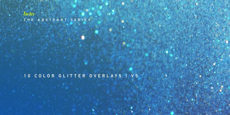 Color Glitter Overlays 5