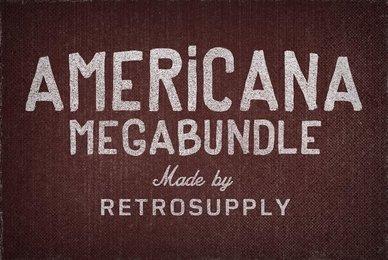 Vintage Americana Megabundle