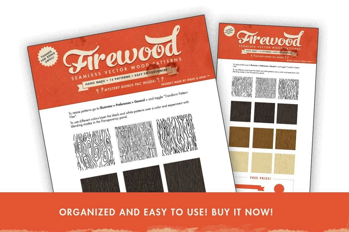 Vector Wood Patterns