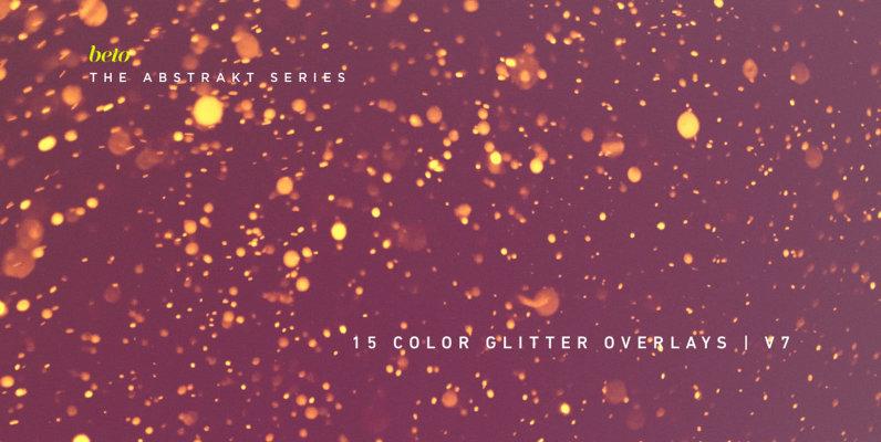 Color Glitter Overlays 7