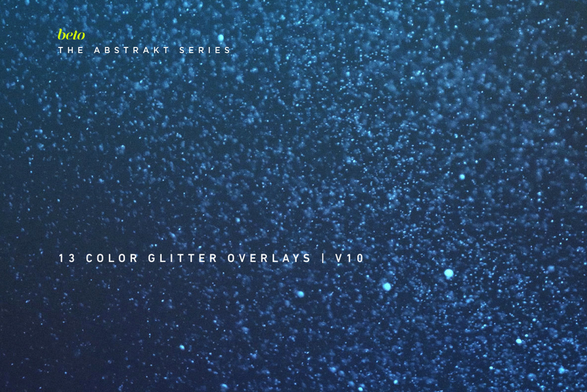 Color Glitter Overlays 10