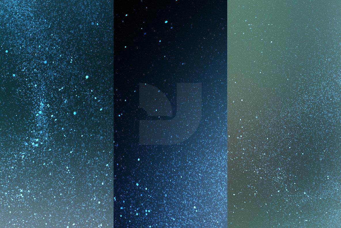 Color Glitter Overlays 10