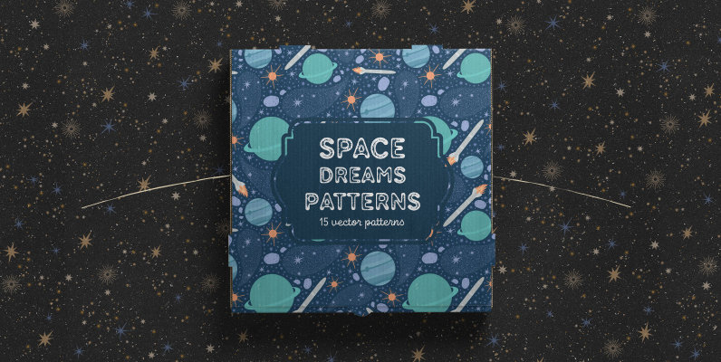 Space dreams patterns collection