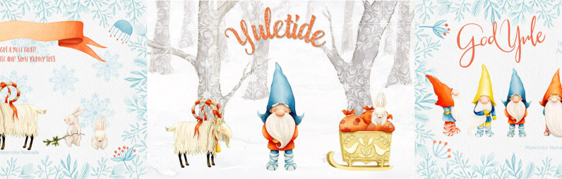 Yuletide Scandinavian Christmas