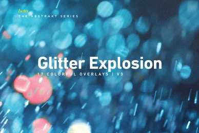 Colorful Glitter Explosion 3