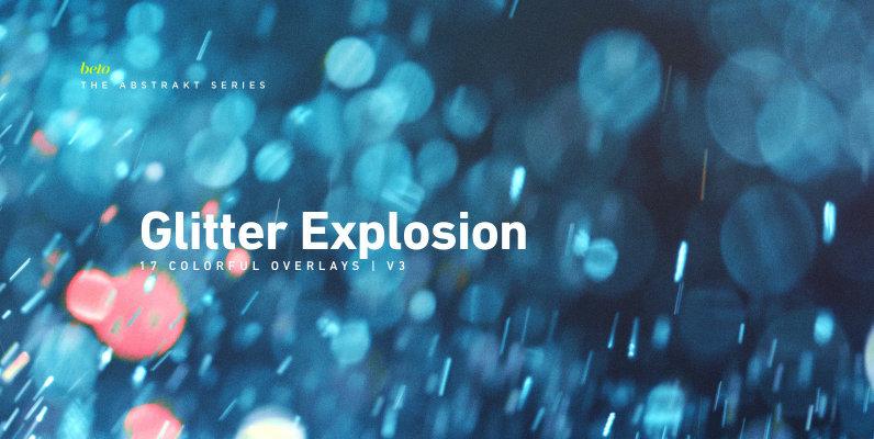 Colorful Glitter Explosion 3