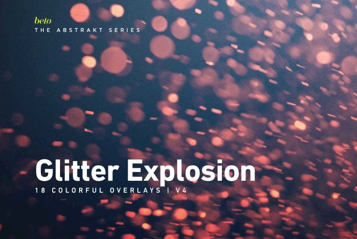 Colorful Glitter Explosion 4