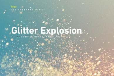 Colorful Glitter Explosion 5