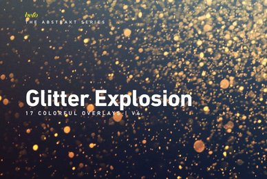 Colorful Glitter Explosion 6