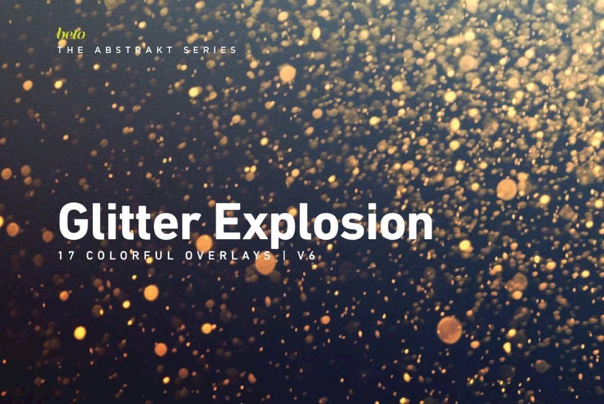 Colorful Glitter Explosion 6