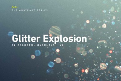 Colorful Glitter Explosion 7