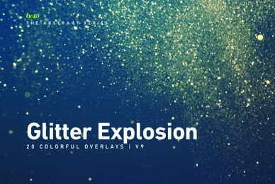 Colorful Glitter Explosion 9