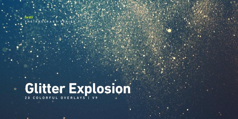 Colorful Glitter Explosion 9