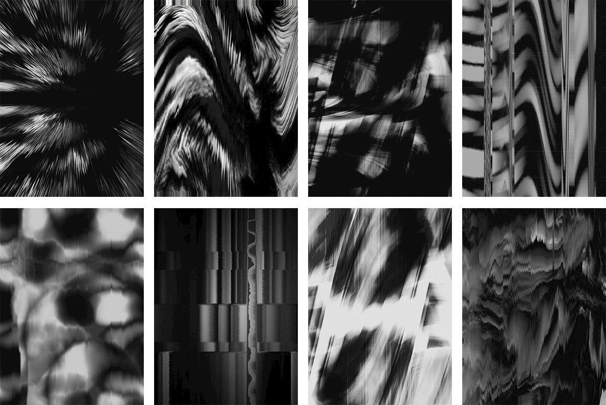 40 Distorted Textures