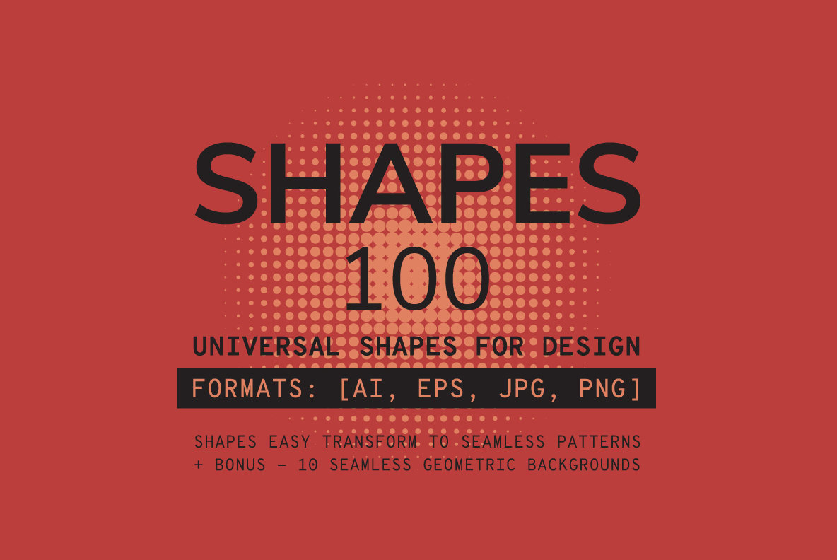 100 Geometric Shapes Part 3