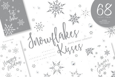 Snowflakes Kisses