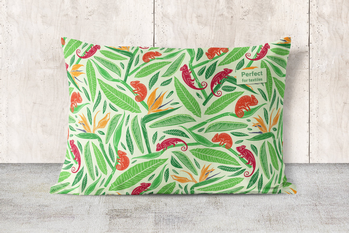 Tropical Desire Patterns Collection