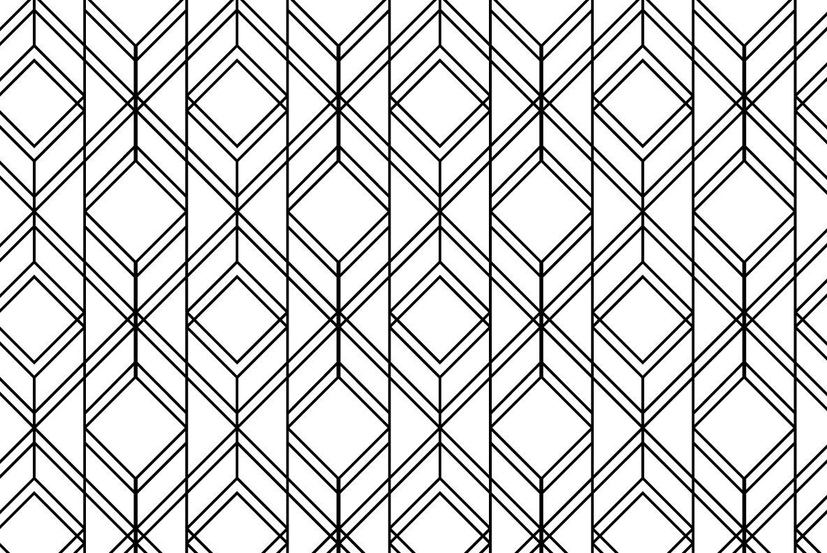 12 linear geometric patterns part 2 graphics youworkforthem