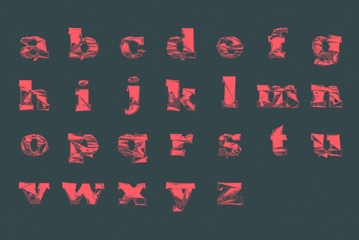Gone   Experimental Type Set