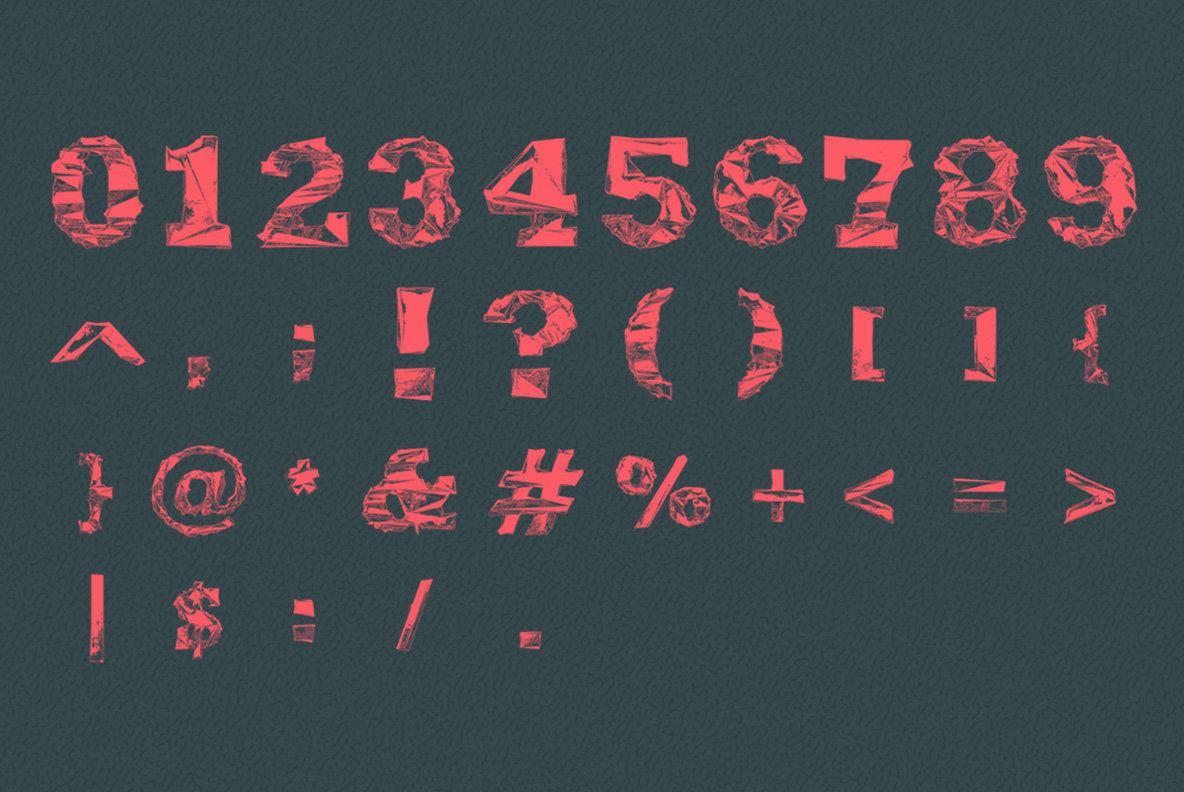 Gone   Experimental Type Set