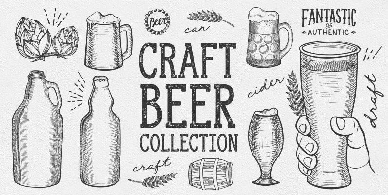 Beer Drink Illustrations