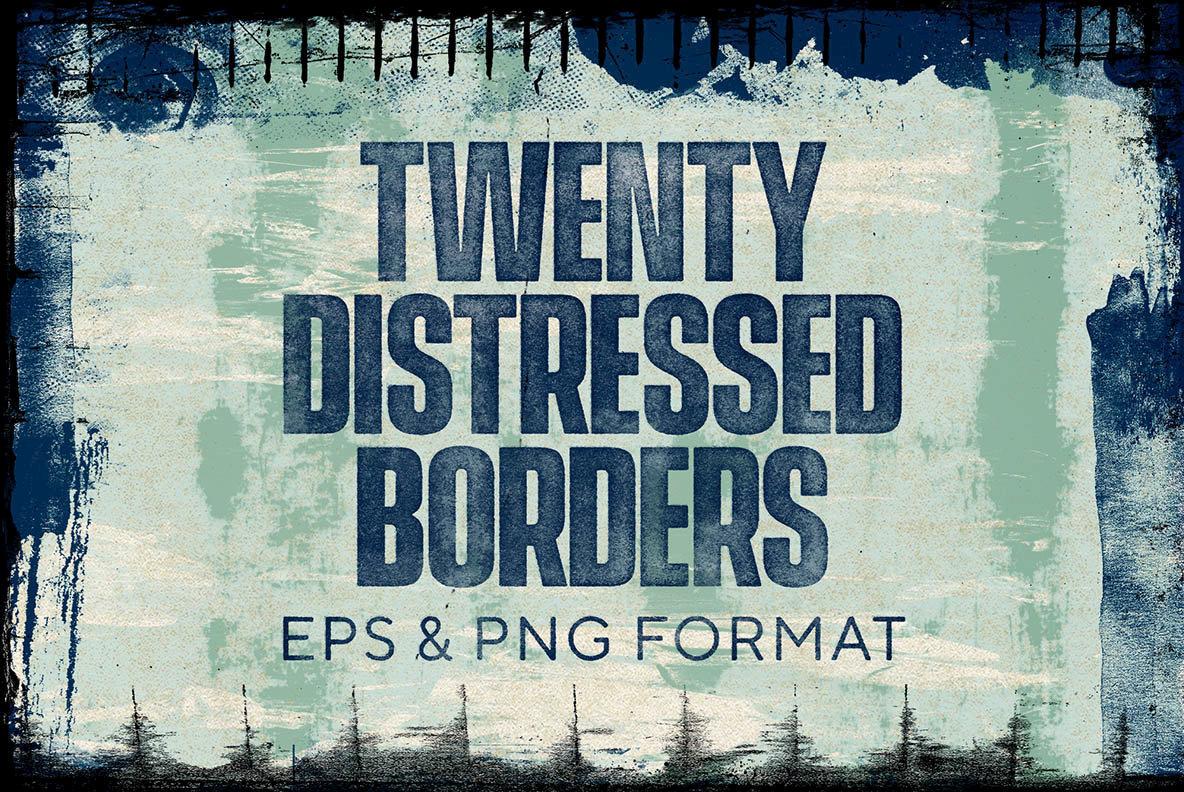 Distressed Borders