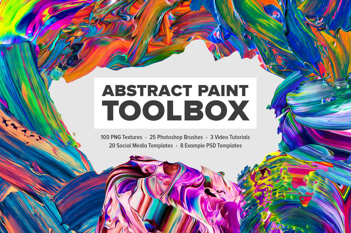 Abstract Paint Toolbox