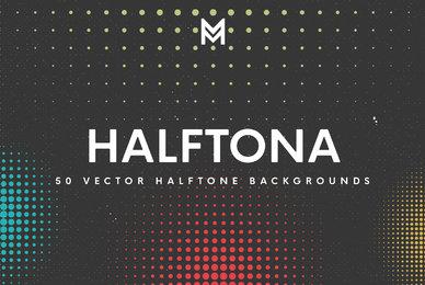 Halftona